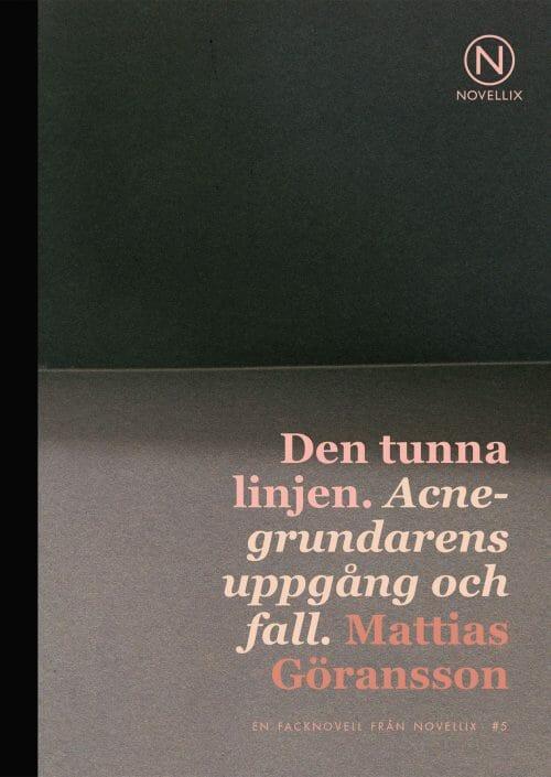 Bokomslag till Den tunna linjen.
