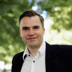 Portrait of Jerker Virdborg for Novellix