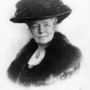 Selma Lagerlöf. Bonnierförlagens arkiv.
