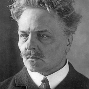 August Strindberg. Bonnierförlagens arkiv.