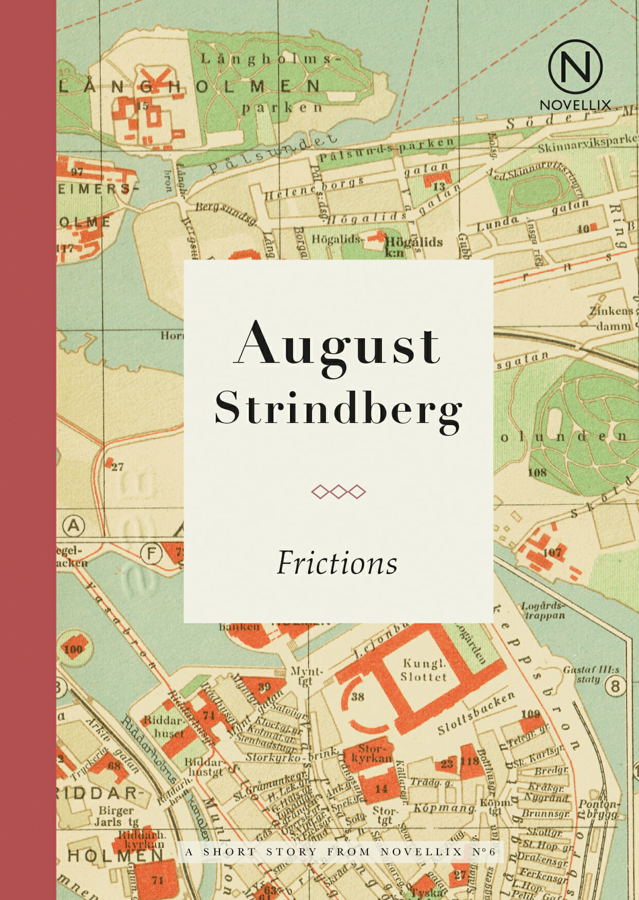 august strindberg frictions short story novell