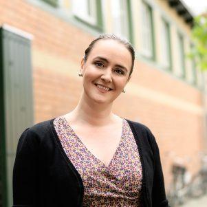 Portrait of Johanna Koljonen for Novellix