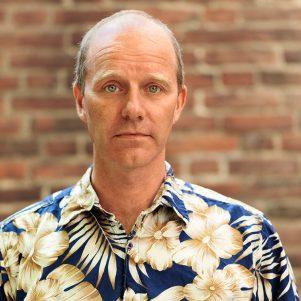 Portrait of John Ajvide Lindqvist